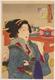 Japanese Art By Tsukioka Yoshitoshi Women Workforce