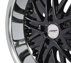 100 Black And Chrome Rims For Trucks 20 Inch Lip Amaya 20x10 ALL ROUND