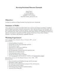 Restorative Aide Job Description Download For Resume Certified Nursing Assistant