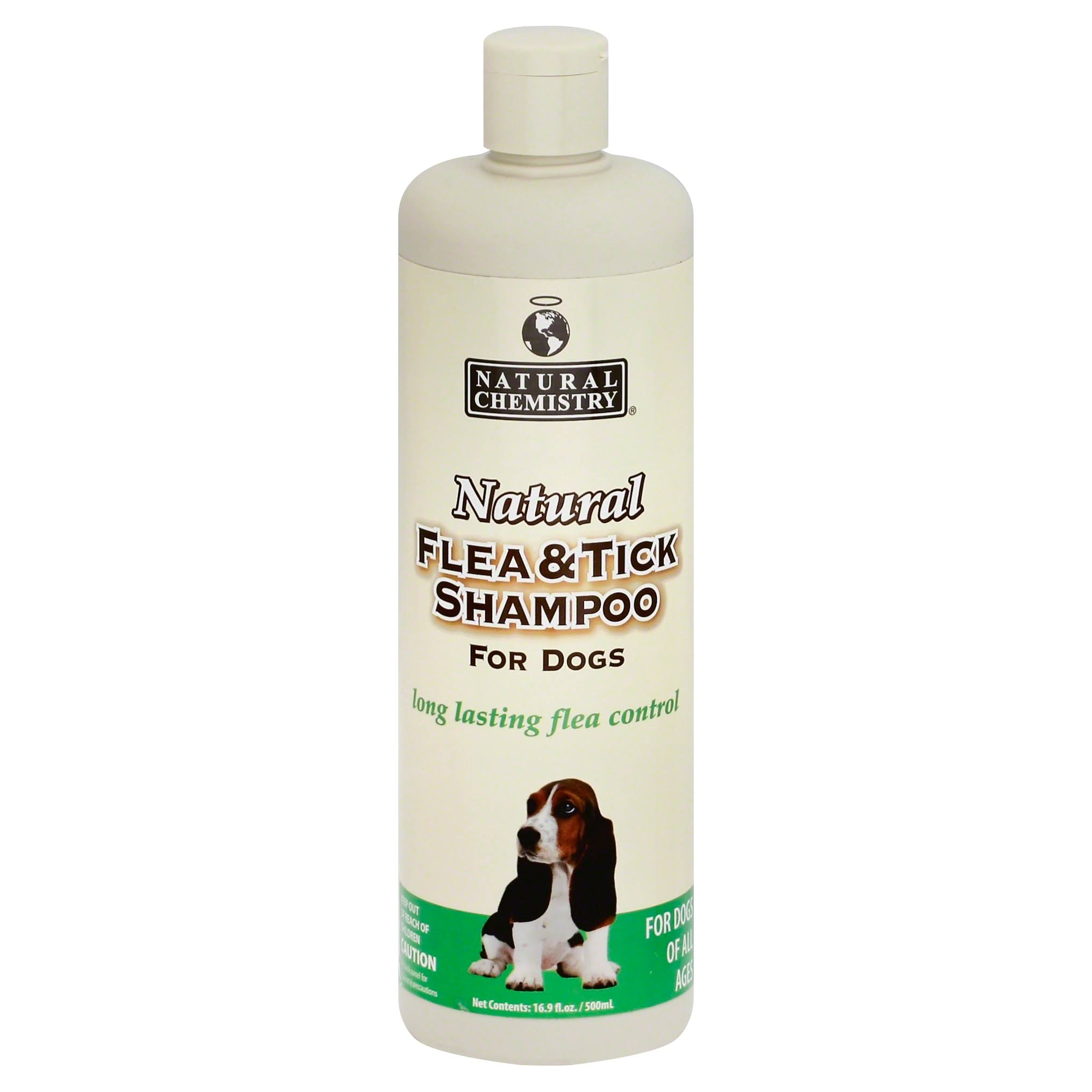 Natural Chemistry Flea and Tick Dog Shampoo - 16oz