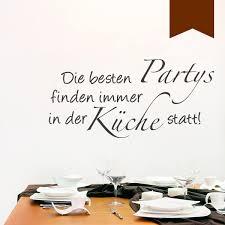 wandkings wandtattoo die besten partys finden in der küche statt 50 x 24 cm braun erhältlich in 33 farben