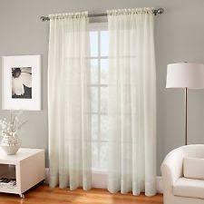 Crushed Voile Curtains Grommet by Kensington Curtains Drapes U0026 Valances Ebay
