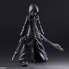 Sora Halloween Town Figure by Kingdom Hearts Ii Play Arts Kai Roxas Organization Xiii Ver