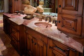 Bathroom Countertop Materials Comparison by 15 Inspiration Bathroom Countertops For Modern Houses