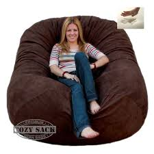 Cozy Sack 6-Feet Bean Bag Chair, Large, Chocolate For Sale Online | EBay Bean Bag Chairs Loungers Jaxx Bags The Best Large For Your Rec Room Dorm And High Back Chair For Kids Tall Tough And Textured Beanbag Big Joe Duo Blackred Engine Walmartcom Fur Charcoal Plush Lounger Ivory Deene Grey Kmart Ace Casual Fniture Black Vinyl 1320701 Home Depot Teardrop Inoutdoor Majestic Goods Individual Every Space Review Geek 6 Tips On How To Clean A Overstockcom