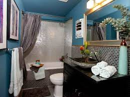 Blue And Brown Bathroom Decor by Bathroom Ideas Small Bathroom Design Ideas Blue Brown Striped