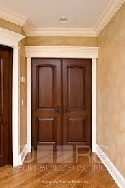 Double Interior Two Panel Prefinished Door