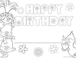 Personalize Your Trolls Coloring Page With This Fun Printable Child Can Write Their Name On The Line Color And Celebrate Poppy Guy Diamond Branch