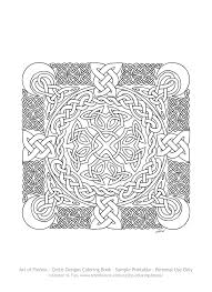 Click Here To See A Sample Page Of The Celtic Designs Coloring Book You Can Print On Your Printer Color