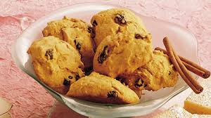 Libbys Pumpkin Orange Cookies by Pumpkin Drop Cookies Recipe Bettycrocker Com