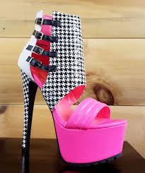 Privileged Xpress Neon Pink Black & White Houndstooth High ... Child Size Pink Dalmatian High Heel Shoe Chair Neon 17 Cm Pleaser Adore708flm Platform Pink Stiletto Shoe High Heel Chair Cow Faux Fur Snow Leopard Leather Mid Mules Christian Lboutin 41it Unzip 20ans Patent Red Sole Fashion Peep Toe Pump Sbooties Eu 41 Approx Us 11 Regular M B 62 High Heel Shoe Chair Womens Fuchsia Suede Strappy Ghillie Sandals Jo Mcer Shoes Online Wearing Heels In Imgur Jr Dal On