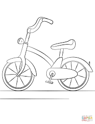 Click The Bicycle Coloring Pages To View Printable Version Or Color It Online Compatible With IPad And Android Tablets