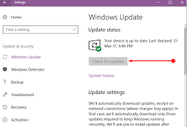 Fix Check for Updates Grayed Out in Windows 10