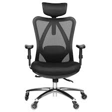 Duramont Ergonomic Adjustable Office Chair With Lumbar Support And  Rollerblade Wheels - High Back With Breathable Mesh - Thick Seat Cushion -  ... Advanceup Ergonomic Office Chair Adjustable Lumbar Support High Back Reclinable Classic Bonded Leather Executive With Height Black Furmax Mid Swivel Desk Computer Mesh Armrest Luxury Massage With Footrest Buy Chairergonomic Chairoffice Chairs Flash Fniture Knob Arms Pc Gaming Wlumbar Merax Racing Style Pu Folding Headrest And Ofm Ess3055 Essentials Seat The 14 Best Of 2019 Gear Patrol Tcentric Hybrid Task By Ergocentric Sadie Customizable Highback Computeroffice Hvst121
