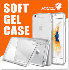 For Iphone X 8 Clear Soft Tpu Gel 7 Plus 6s Note 8 S8 Case Iphone