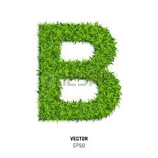 B Font Eco Stock s Royalty Free B Font Eco