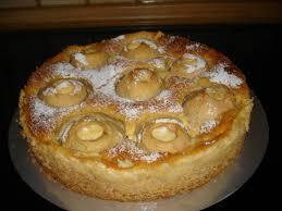 apfel pudding kuchen ein traum