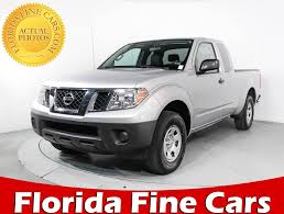 Used 2016 NISSAN FRONTIER Extended Cab S Truck For Sale In MIAMI, FL ...