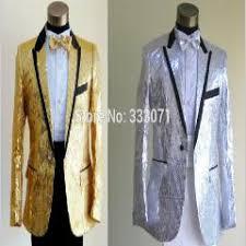 Custom Made Slim Fit Sequins Groom Tuxedos White Black Gold Red Groomsmen 2016 Men Wedding Suits Dress Jacket Pants Bow Tie