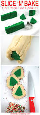 Rice Krispie Christmas Trees Recipe by Slice U0027n U0027 Bake Christmas Tree Cookies Recipe Christmas Tree