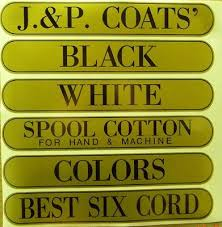 Antique Spool Cabinet Decals by J U0026 P Coats Spool Cabinet Decals Stickers Sign Thread Antique
