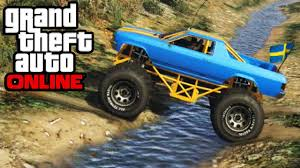 100 Truck Mudding Games GTA 5 Monster Mountain Climbing 4x4 OffRoading