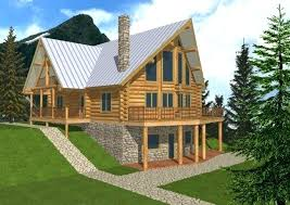 Small Cabin Style House Plans Amp Lodge Plan Alp Design Group