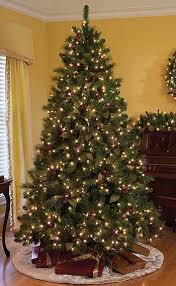 75 Ft Slim Christmas Tree by Christmas Tree 7 5 Pre Lit 75 Foot Pre Lit Deluxe Artificial