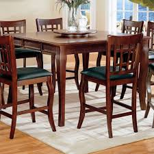 Newhouse Counter Height Dining Room Set With Grid Back Chairs