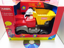 99 Chuck The Talking Truck Fortigaras 1999 Playskool Tonka Greek Motion