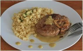 osso bucco cuisine et vins de osso bucco de veau et sauce moutarde estragon très très crémeuse
