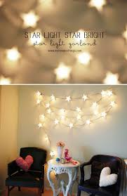 Bedroom Ceiling Lighting Ideas by Best 25 Star Lights Ideas On Pinterest Babies Nursery Fiber