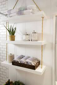 12 Marvelous Bathroom Shelves Decoration Ideas For Small Spaces ... Small Space Bathroom Storage Ideas Diy Network Blog Made Remade 15 Stunning Builtin Shelf For A Super Organized Home Towel Appealing 29 Neat Wired Closet 50 That Increase Perception Shelves To Your 12 Design Including Shelving In Shower Organization You Need To Try Asap Architectural Digest Eaging Wall Hung Units Rustic Are Just As Charming 20 Best How Organize Tiny Doors Combo Linen Cabinet