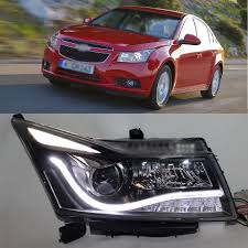 ownsun eagle eye bi xenon projector lens led drl headlight