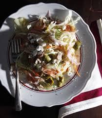 Japanese Pumpkin Salad Recipe by Jar Restaurant U0027s Chopped Salad Recipe Saveur