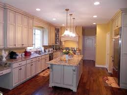 French Country Galley Kitchen Download Cabinets Michigan Home Design