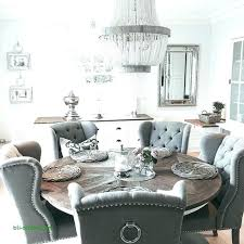 Round Dining Table Decor Charming Design Room