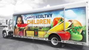 San Antonio Food Bank Truck Design — By Dennis Ochoa
