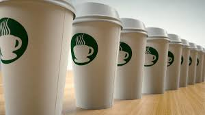 100 Yuma Truck Driving School Paper Coffee Cups In A Row