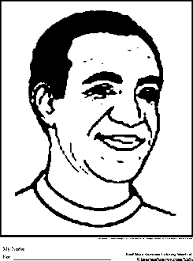 Bill Cosby Coloring Pages Black History Month