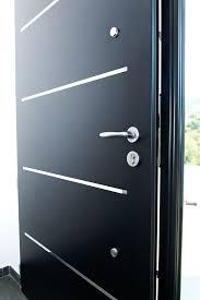 barre securite porte entree porte d entrée aluminium cotim 11 par zilten porte d entrée