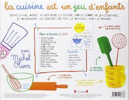 livre de cuisine enfant amazon fr coffret la cuisine est un jeu d enfants michel oliver