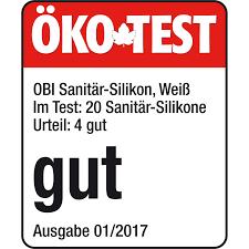 obi sanitär silikon weiß 310 ml