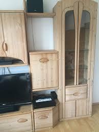 wohnwand massivholz wohnzimmer schrank massiv