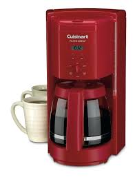 Red Coffee Maker Filter Cup Programmable Coffeemaker Keurig Walmart Kitchenaid