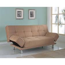 celeste microfiber klik klak futon bed
