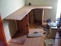 fabrication d un bureau en bois mes meubles en cocolife