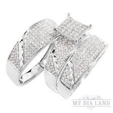 30 Best Cheap Wedding Ring Sets White Gold