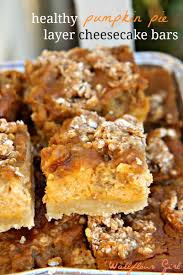 Pumpkin Snickerdoodle Cheesecake Bars by Cheesecake Archives Wallflour