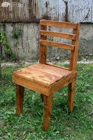Rustic Wooden Pallet Chairs O 1001 Pallets